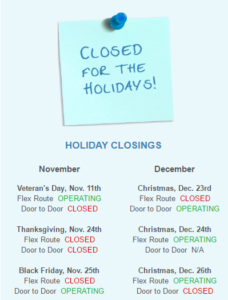 closed-holidays